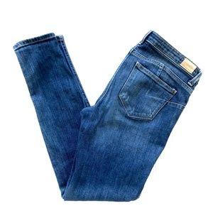 MNG by Mango Uptown Distressed Skinny Jeans 6